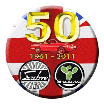 S019 - 50th Anniversary Sabra/Sabre Sticker