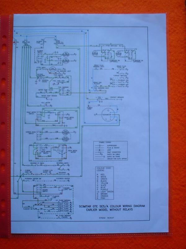M005 - Brooklands Reliant Scimitar Manual  U0026 Book Of The Scimitar